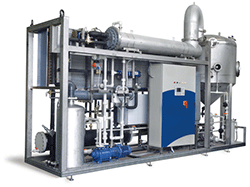 Vacuum-Distillation-Evaporators