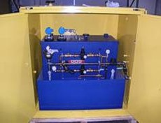 Flammable liquid waste collection system