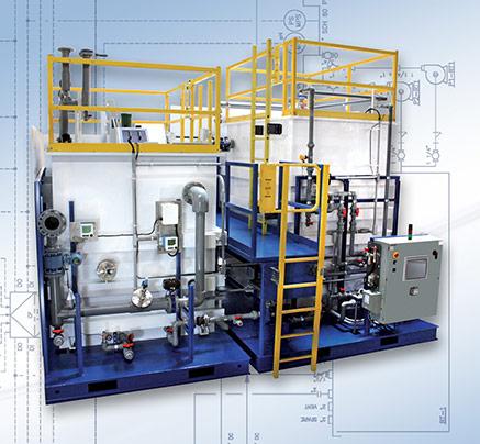 Industrial Waste Treatment - pH Neutralization / pH