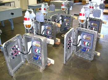 Explosion Proof & Intrinsically Safe Control Panels